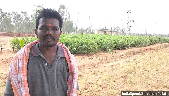 Depending on what a farmer grows, income has increased due to an increase in water in borewells. Now they get water at 1,000 feet which was not the case earlier, says Uday Kumar, a small vegetable farmer in Kolar.
