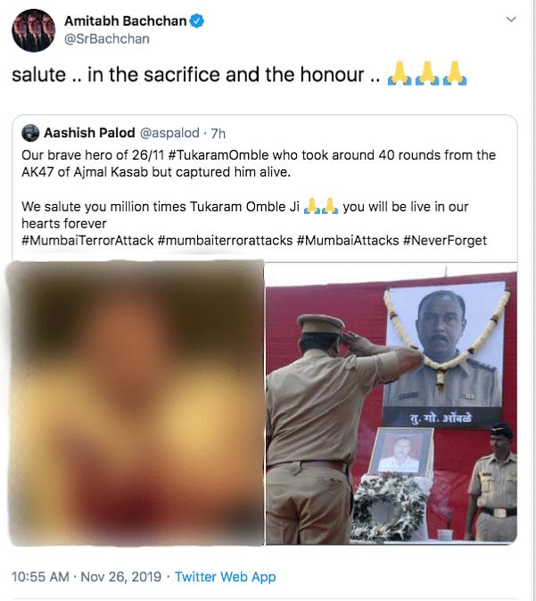 Big B, Ayushmann, Anushka & B'wood Pay Tribute to 26/11 Martyrs