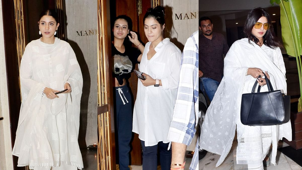 Priyanka, Anushka Pay Condolences to Manish Malhotra's Father