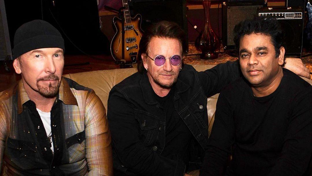 Music legends unite.