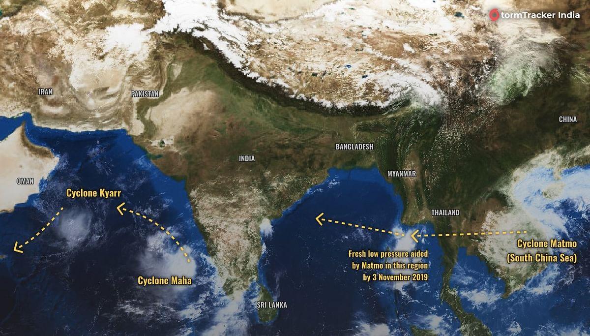 QAhmedabad: Cyclone Maha Likely to Hit on 6 Nov; Farmer Kills Self