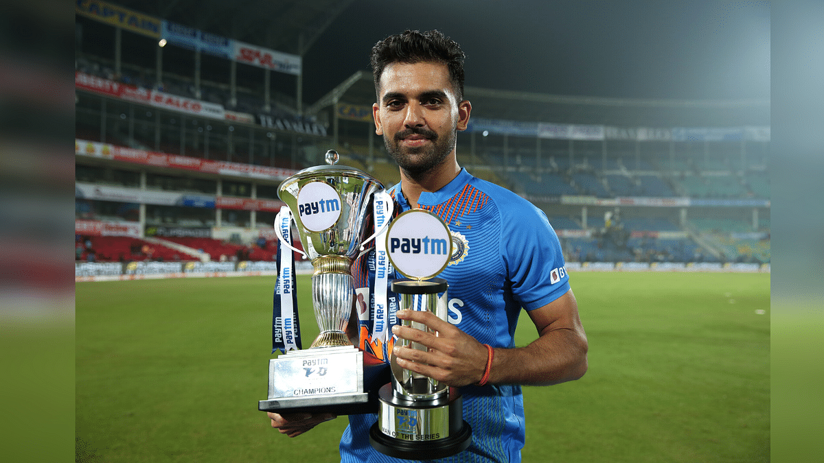 Deepak Chahar blew away the Bangladesh batting order in the third T20I to hand India a 2-1 series win.