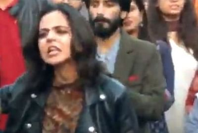 Pakistani students sing song of freedom, video goes viral