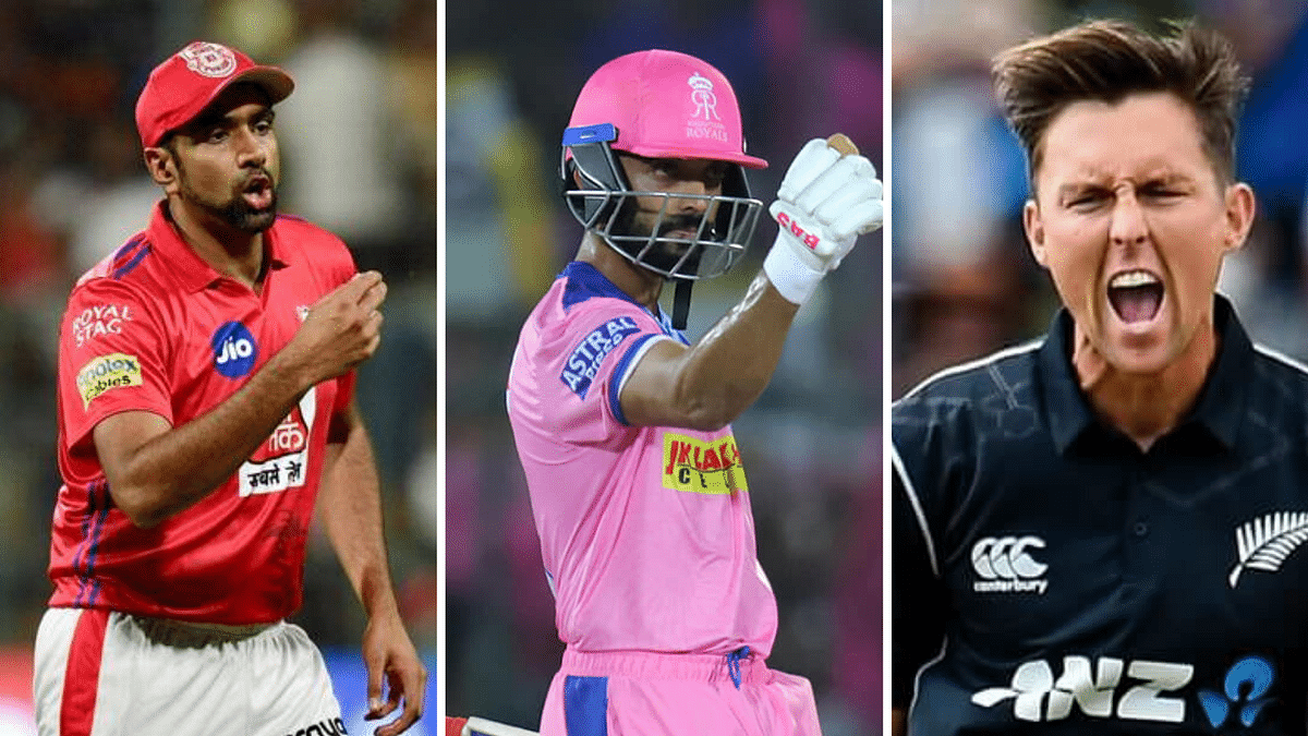 The trading window for IPL teams will shut on 14 November. Ravichandran Ashwin and Trent Boult and AJinkya Rahane are some of the big names to have moved teams.