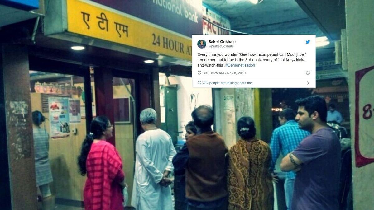 'Where's the Black Money?' Asks Twitter on 3 Yrs of Demonetisation