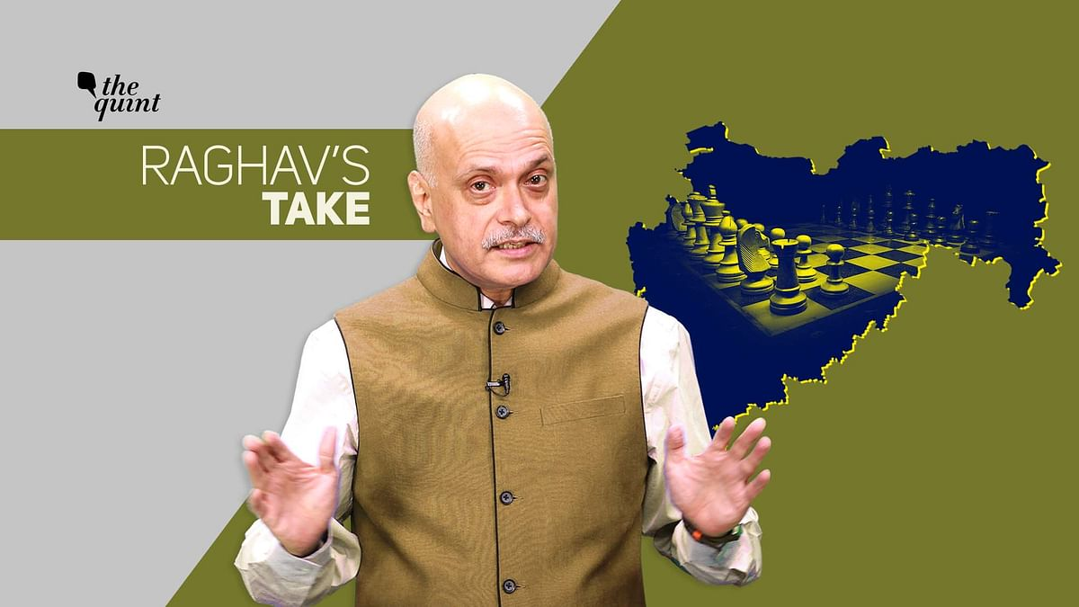 Image of The Quint's Editor-in-Chief, Raghav Bahl, and map of Maharashtra, used for representational purposes.