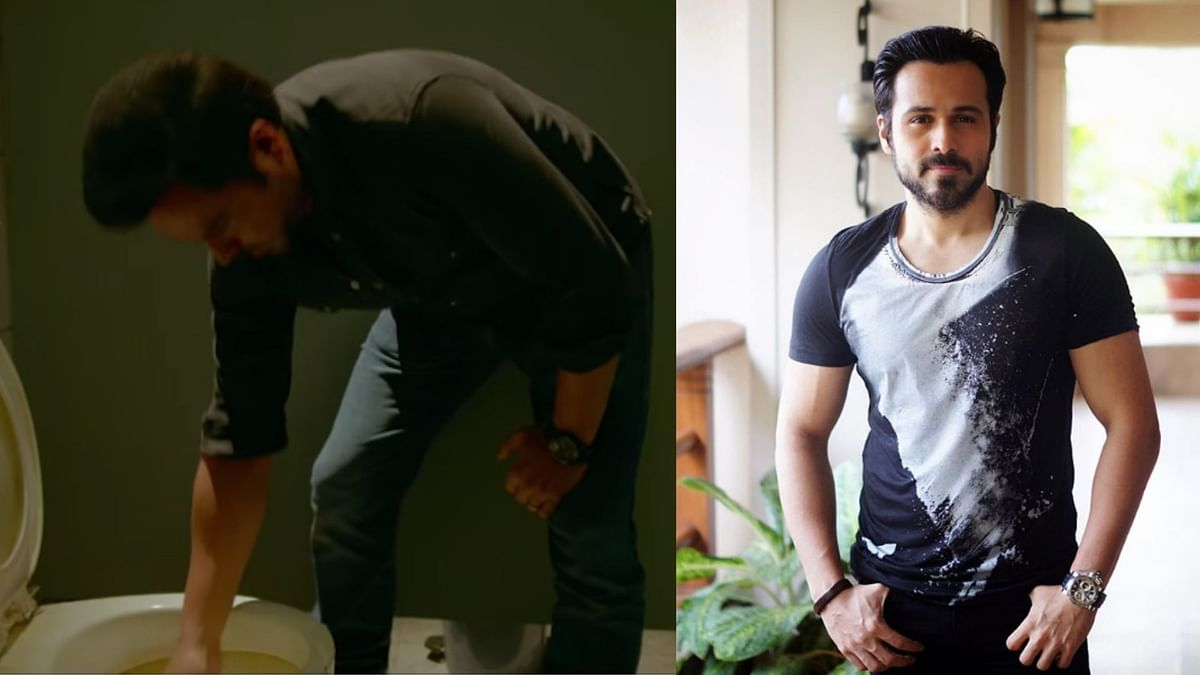 Emraan on Why He Put His Hand Down a Toilet During 'The Body'