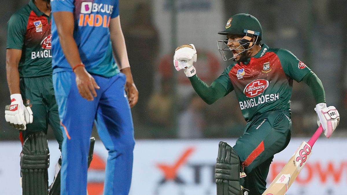 Bangladesh won their maiden T20 International over India with a seven-wicket victory in the series opener.