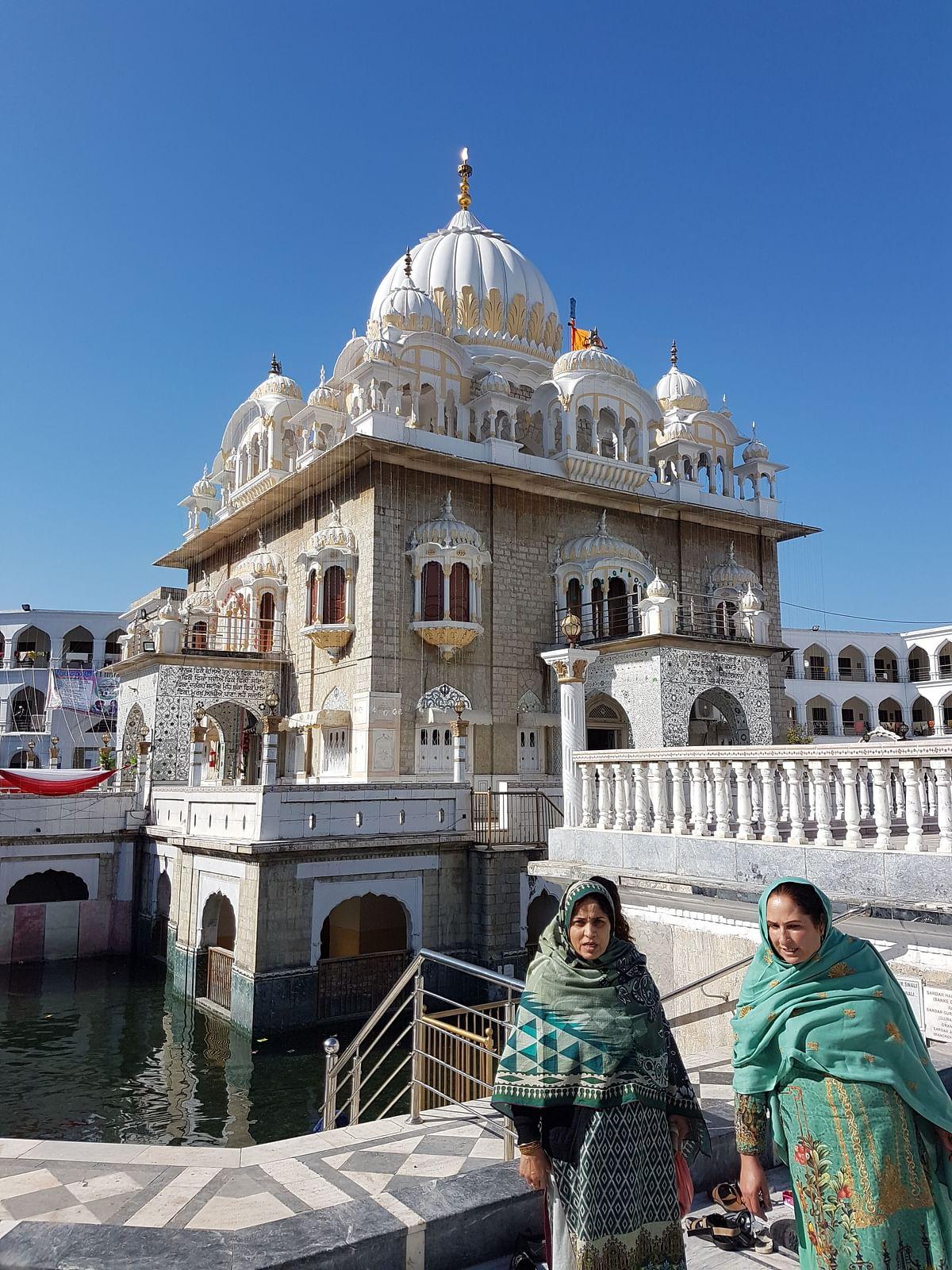 Gurdwara Panja Sahib.