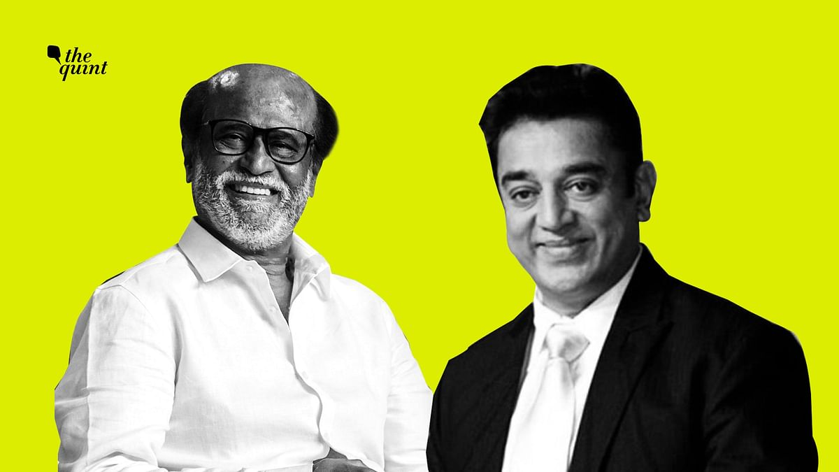 Image of Rajinikanth (L) and Kamal Haasan used for representational purposes.