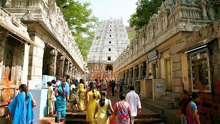 The Venkateswara Temple in Tirumala