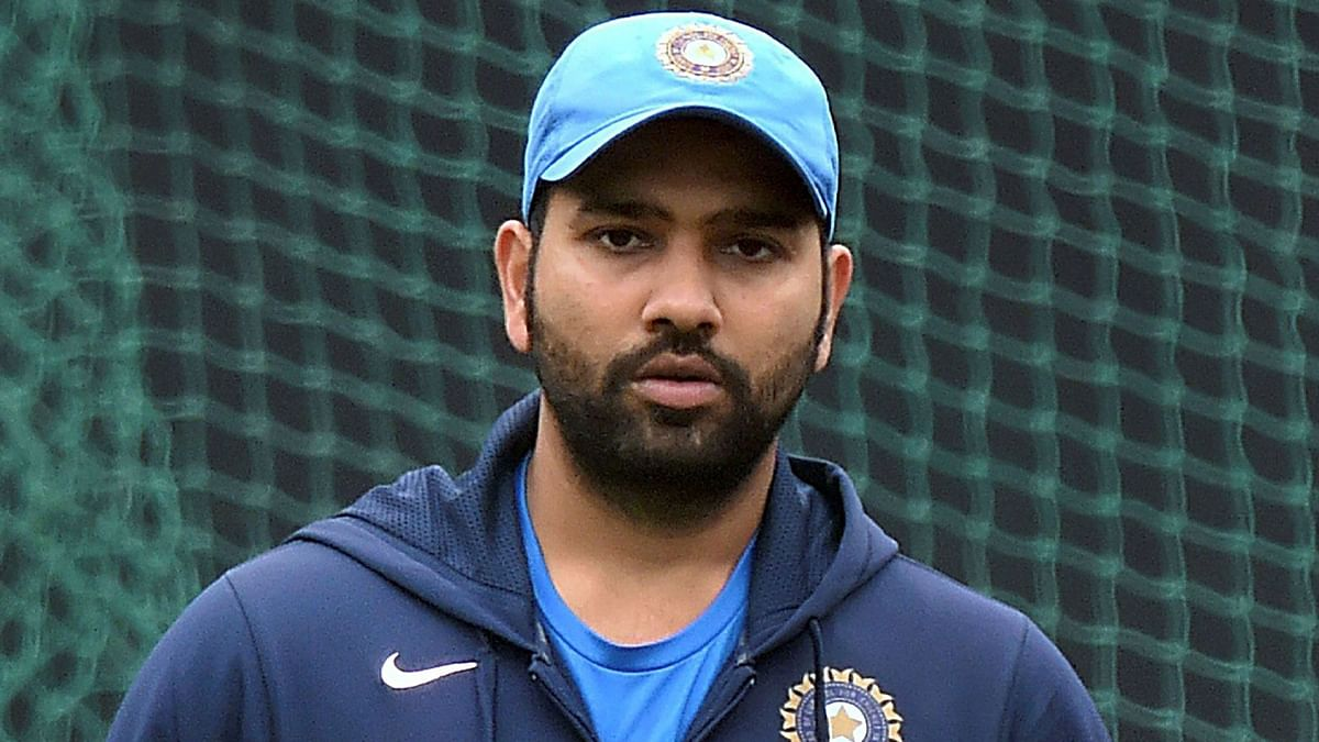 Injury Scare for Rohit Sharma Ahead of 1st T20I, Gets Hit on Thigh