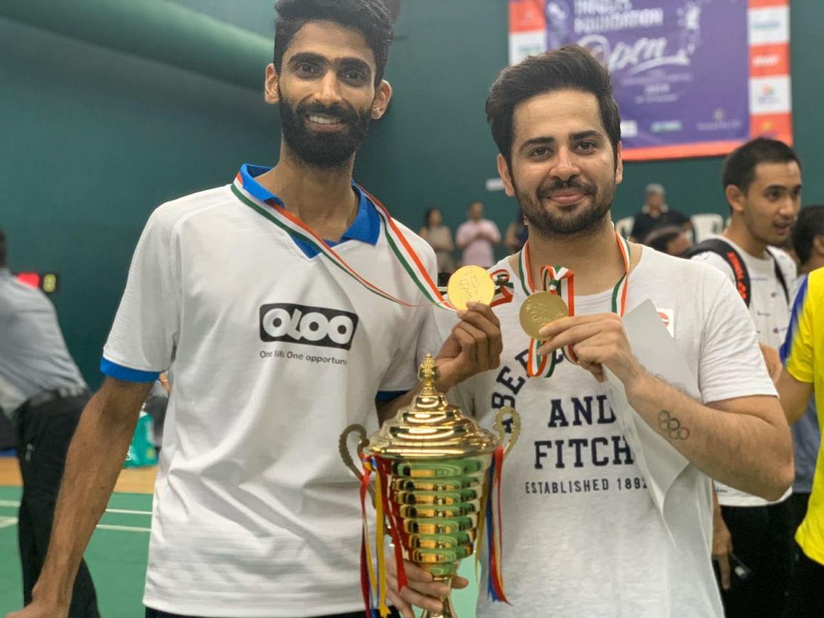 Manu Attri and Sumeeth Reddy won the 2019 India International Challenge.