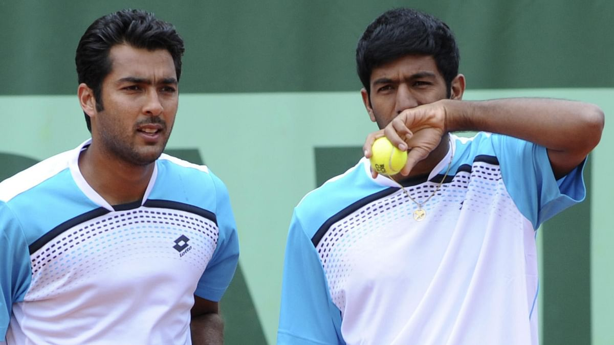 Aisam-ul-Haq Qureshi (left) has pulled out of the Davis Cup tie against India.