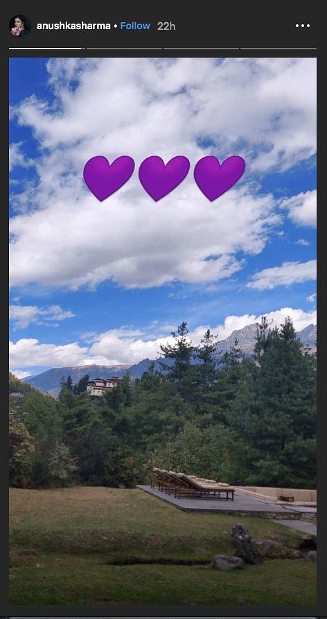 Virat & Anushka on Vacation Mode, Escape to Beautiful Bhutan