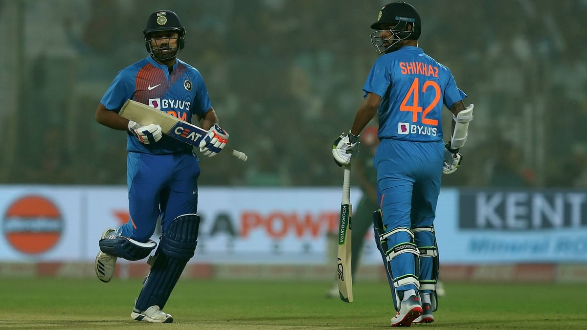 While Rohit looked good during his five-ball stay at the crease, Shikhar never got going for his 42-ball 41 against Bangladesh on Sunday.