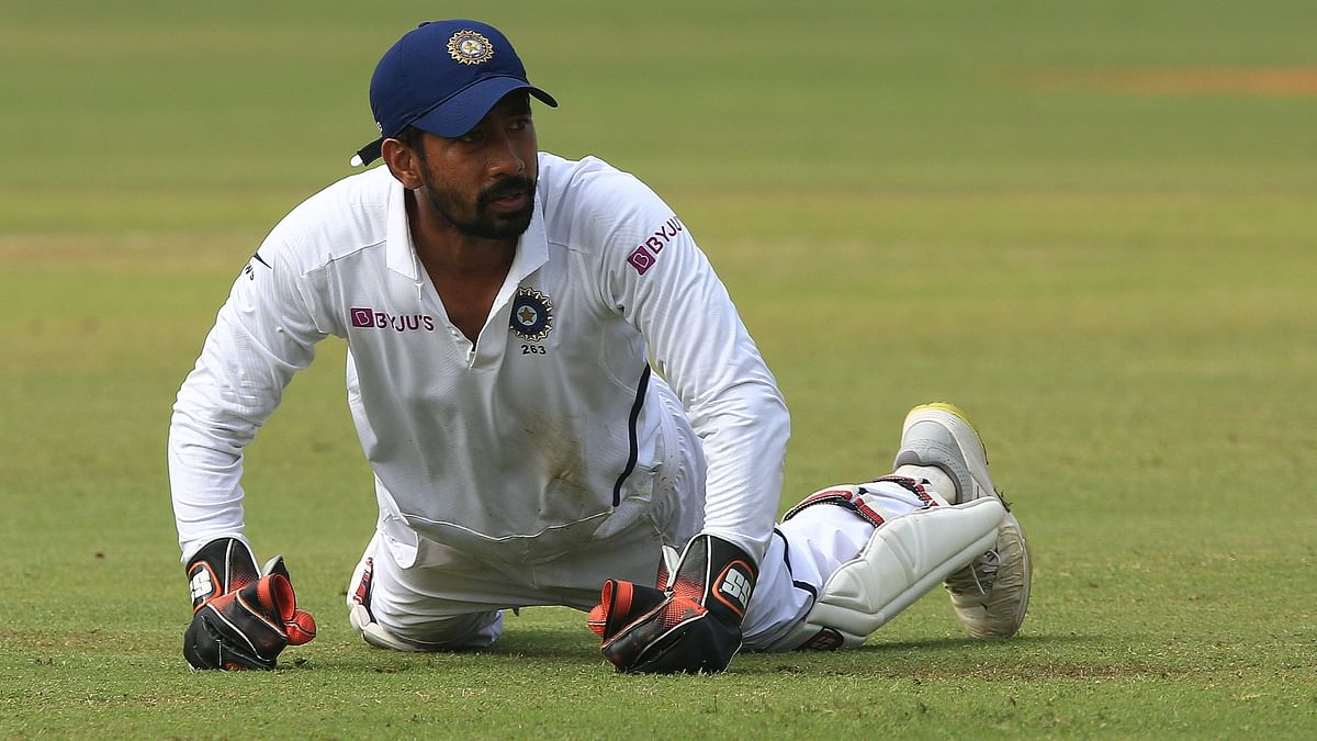 Wriddhiman Saha Undergoes Surgery After Injury in Pink-Ball Test