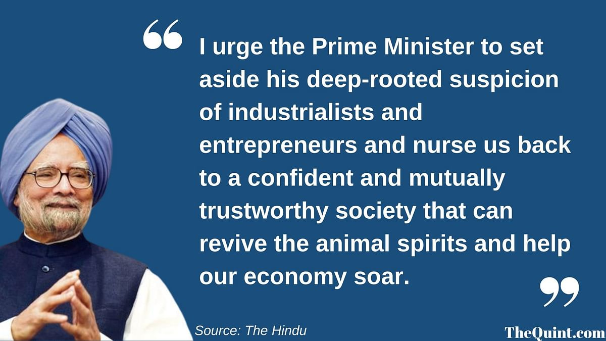 Excerpt from former PM Manmohan Singh's editorial in The Hindu.