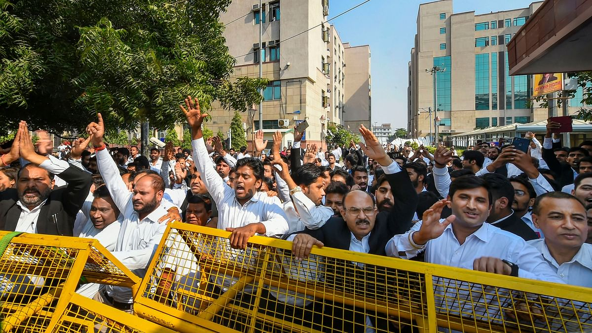 In Photos: Four Days of Logjam Between Lawyers And Delhi Police