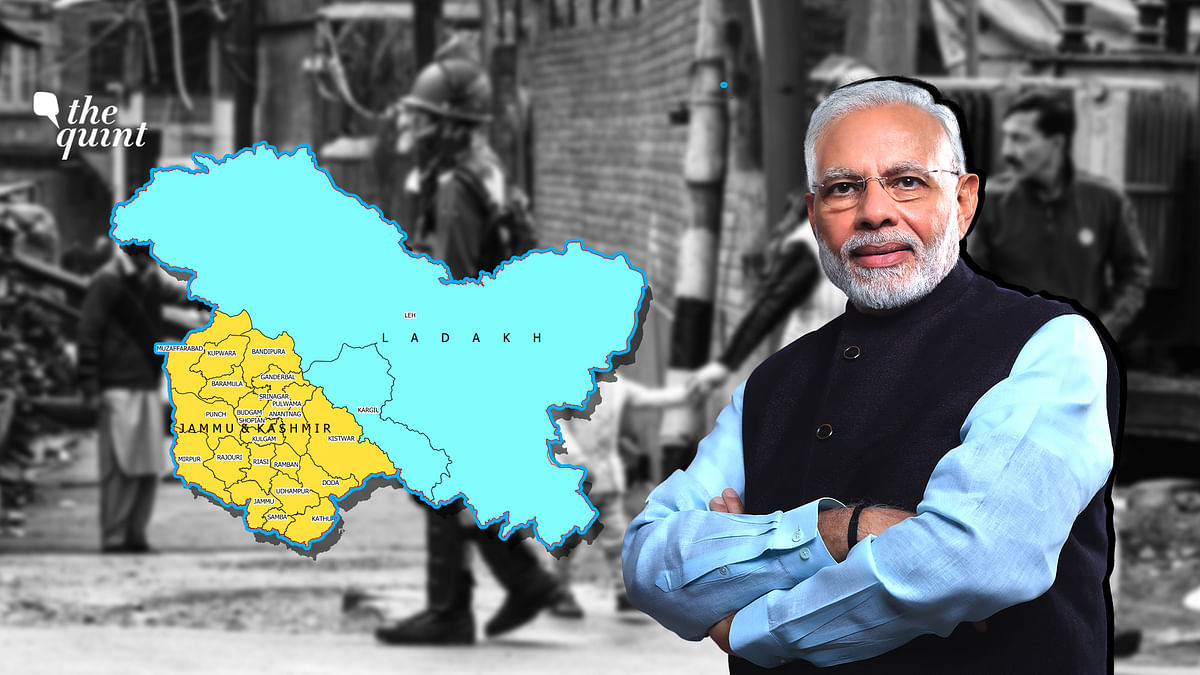 Catch all the live updates on Jammu and Kahmir on The Quint