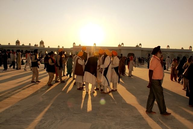 Devotees from several countries visited Kartarpur Sahib.