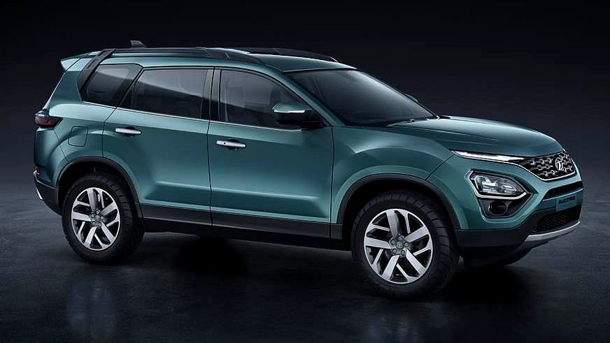 Tata's New 7-Seat SUV is Called Gravitas, Will Sit Above Harrier