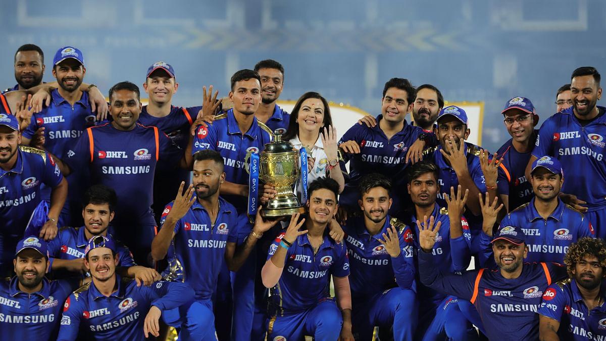 Inside Pictures of Mumbai Indians' Lavish 'Team Room' in the UAE