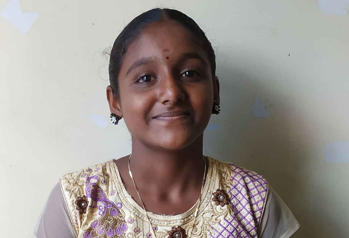 This boss girl teaches taekwondo, silambam (traditional marital arts) and yoga to other children.