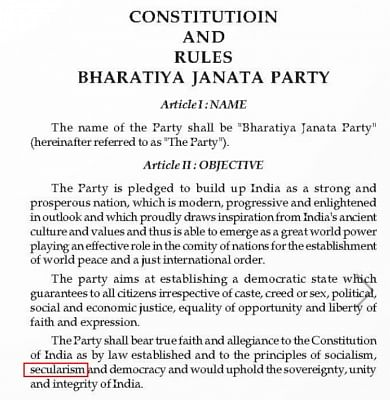 Its Constitution has