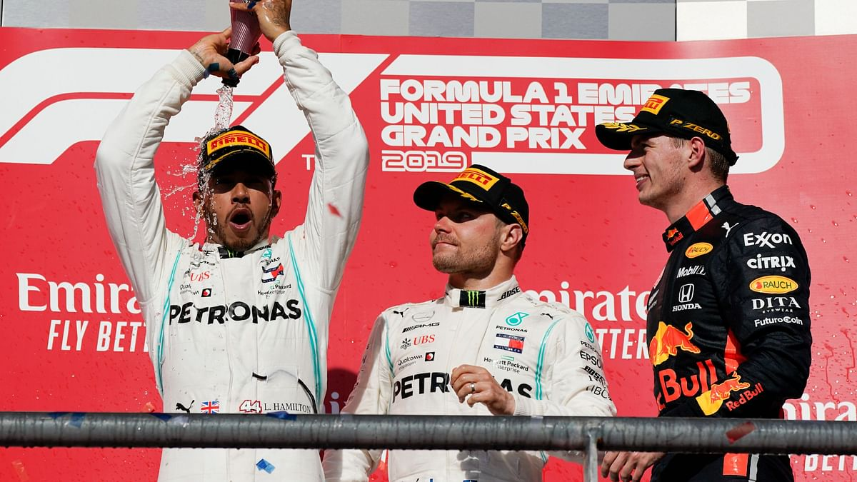 Lewis Hamilton Wins Sixth F1 World Title at US Grand Prix
