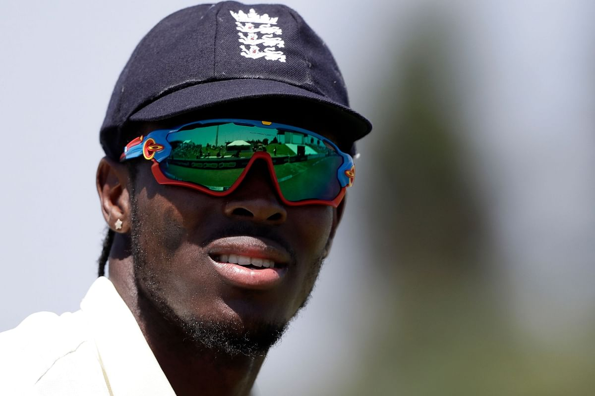 England fast bowler Jofra Archer is on his first tour of India.