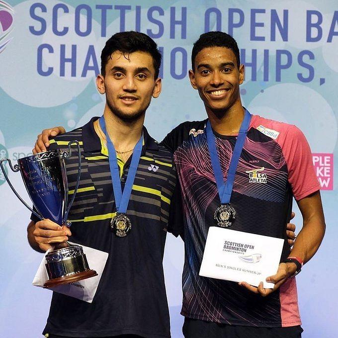 Lakshya Sen won the 2019  Scottish Open over the weekend.