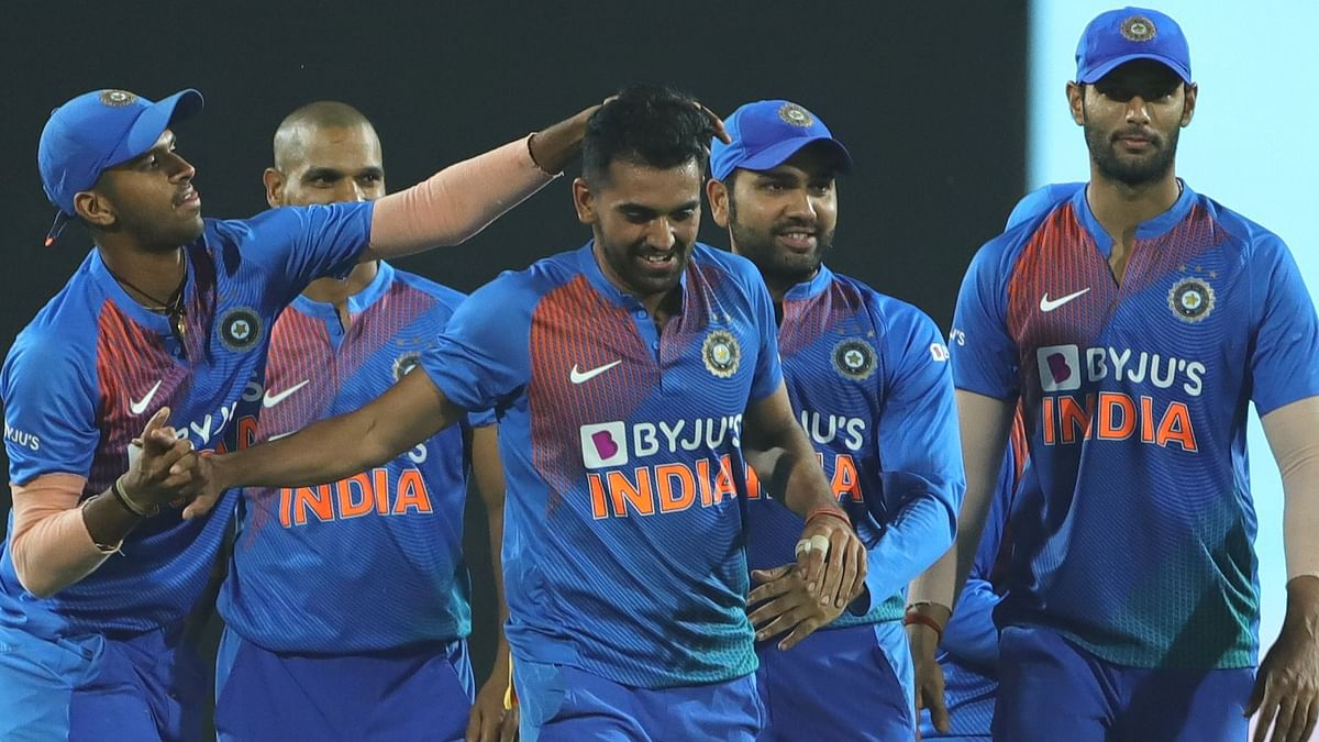 India win during the 3rd T20 International match between India and Bangladesh held at the Vidarbha Cricket Association Stadium, Nagpur on the 10th November 2019.