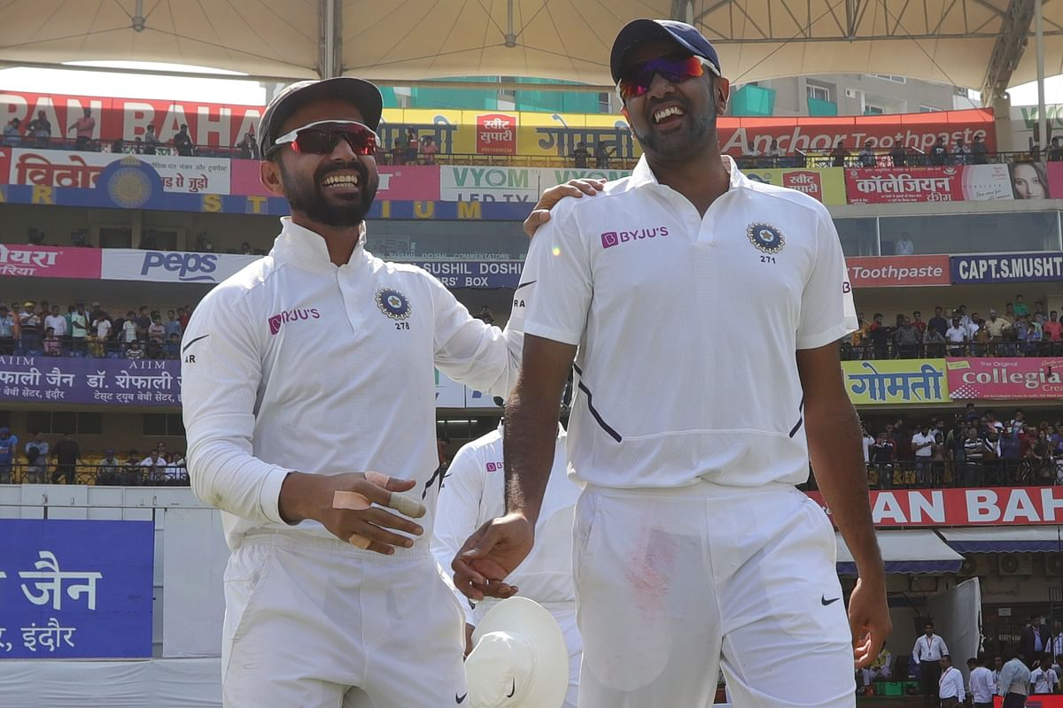 Indore Test Day 1 Stats: Ashwin Breaks Record, B'desh Hits New Low