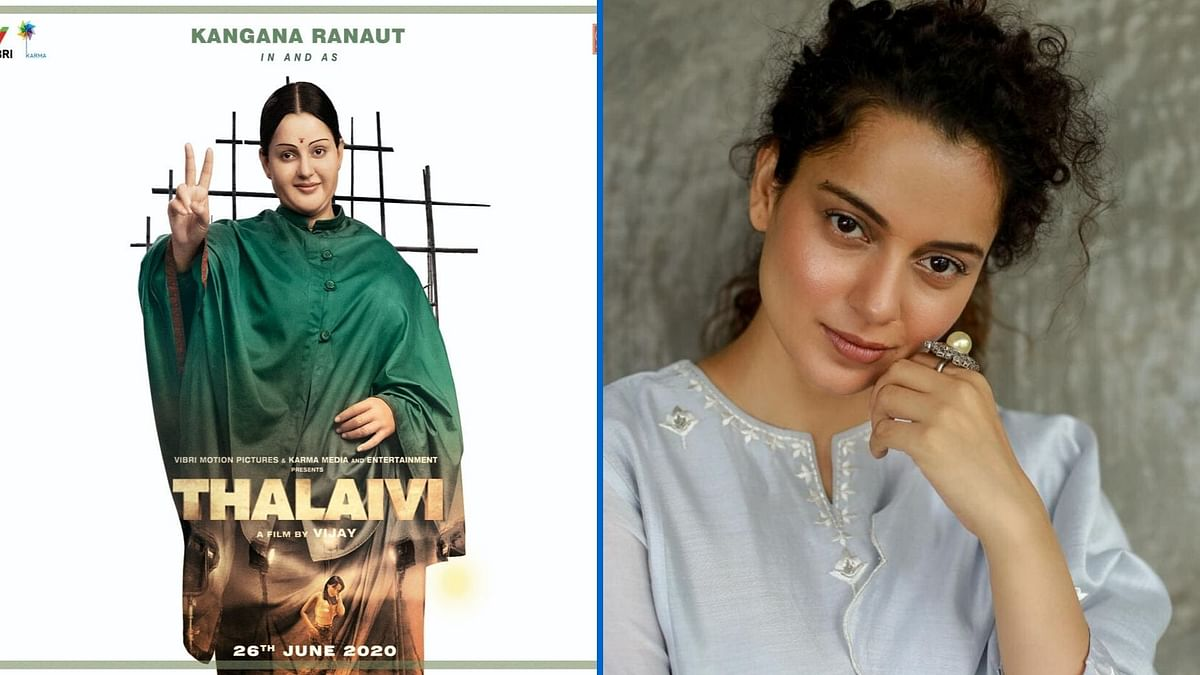 Kangana Ranaut plays actor and politician J Jayalalithaa in the biopic.