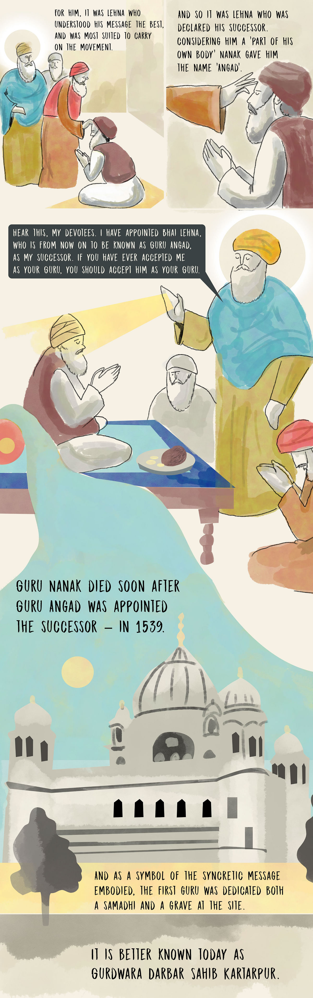 Graphic Novel: Kartarpur – Where Guru Nanak Lived His Last 17 Yrs