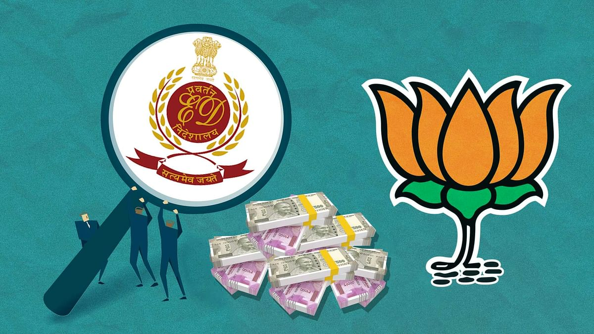 BJP Got Donation From Company Being Probed For Terror Link: Report