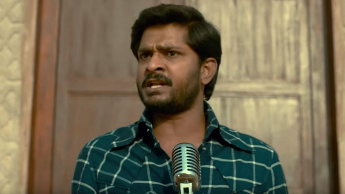 Sandeep Madhav portrays student leader George Reddy in <i>George Reddy.</i>
