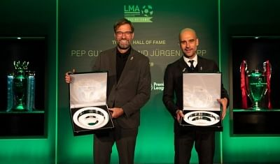 Guardiola, Klopp inducted into LMA Hall of Fame