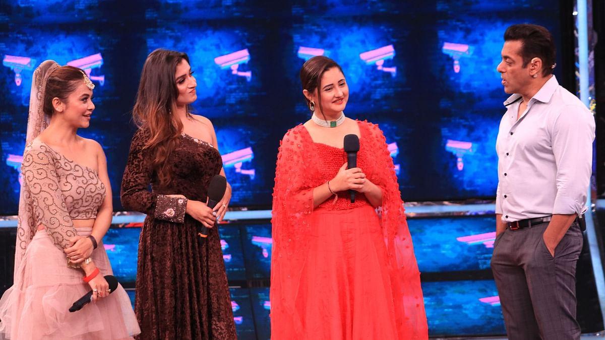 Devoleena Bhattacharjee, Shefali Bagga, Rashami Desai were evicted in the mid-season finale.