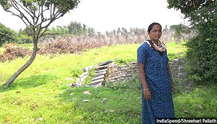 Water levels have improved and we have been able to grow more crops owing to the increase in water availability, says Sudha Ramlingaiah, a 32-year-old farmer in Kolar's Bellur panchayat.