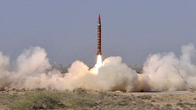 The Shaheen 1 missile.