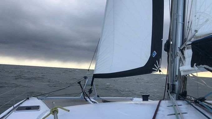 Greta Thunberg took to the sea on the 48-foot (15-meter) catamaran of an Australian family to sail back to Europe to attend a climate conference in Madrid.
