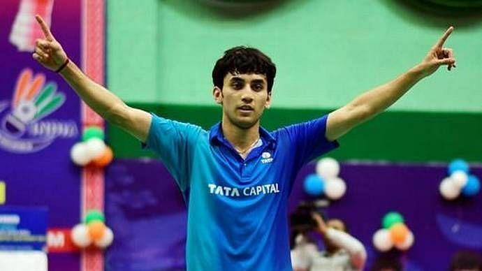 Shuttler Lakshya Sen on Sunday won the SaarLorLux Open Super100 title with a sensational come from behind win.