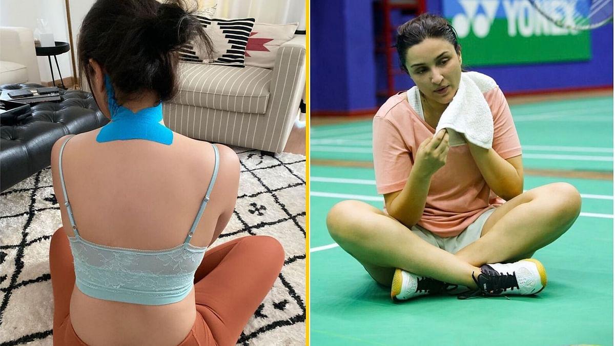 Injured Parineeti Takes a Break From Shooting Saina Nehwal Biopic
