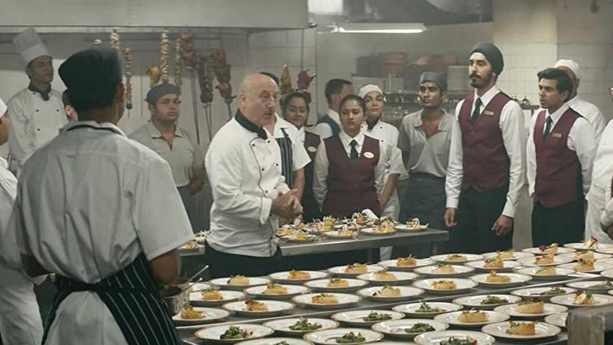 Anupam Kher plays Hemant Oberoi, then Grand Executive Chef of the Taj Mahal Palace Hotel.
