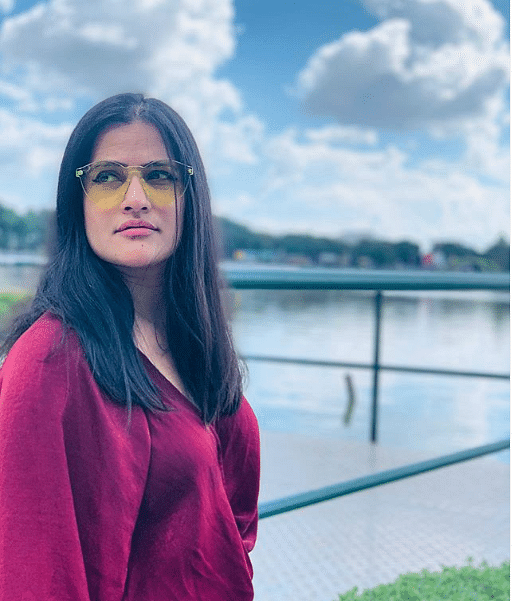 A singer by profession, Sona Mohapatra never holds back while voicing strong opinions.