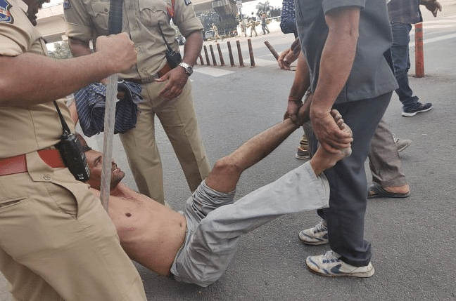TSRTC Strike: Protesters Detained for 'Defying' Hyderabad Police