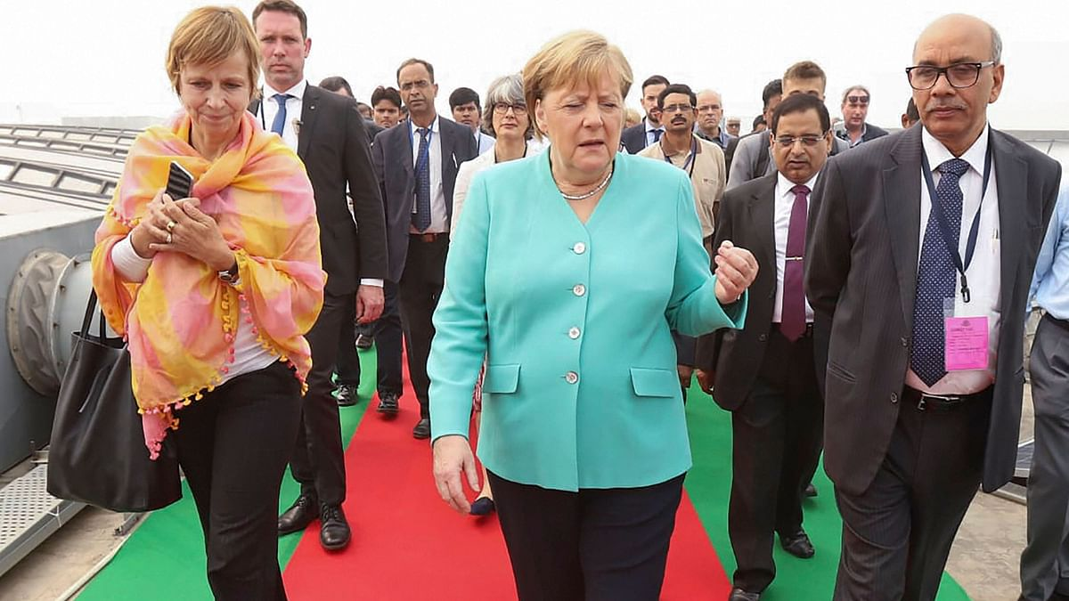 'Looking at Delhi Pollution...': Merkel's Push for Electric Buses