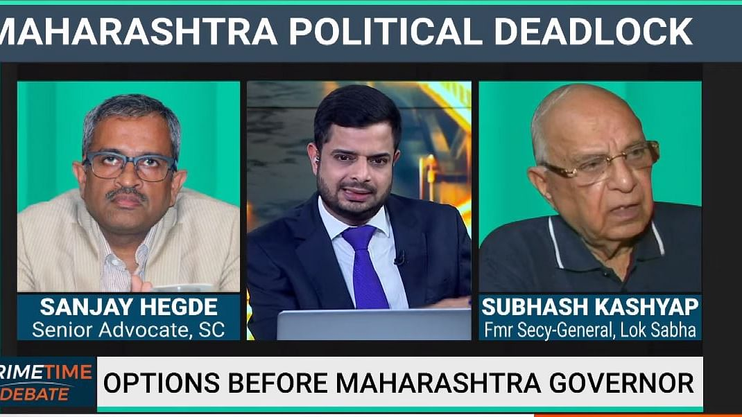 Maha Impasse: Sanjay Hegde, Subhash Kashyap Discuss Guv's Options